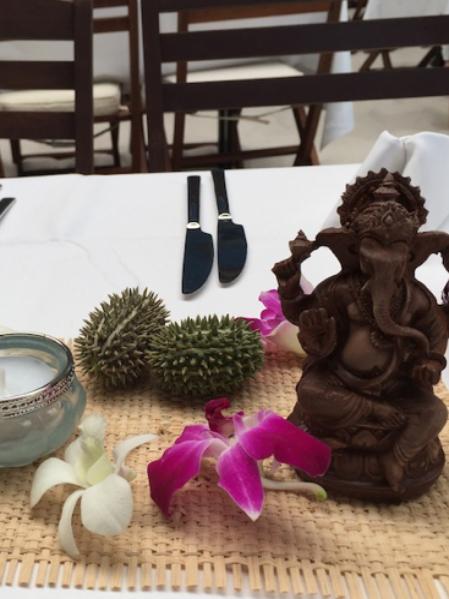 Verleih Dekoration Hamburg Tischdekoration Ganesha